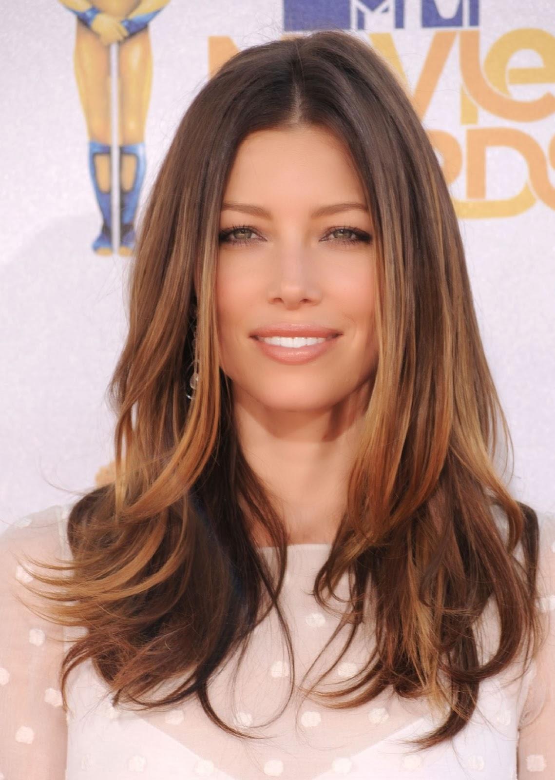 Los peinados que resaltan el efecto de las mechas californianas - Mechas Californianas Peinados