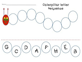 ... Entrepreneurs III: The Very Hungry Caterpillar Sequencing Worksheets