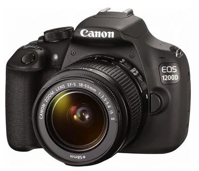 Canon EOS 1200D / Rebel T5 DSLR Camera