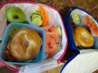Bagel in a Lunch box
