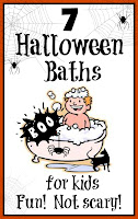 Halloween bath time fun