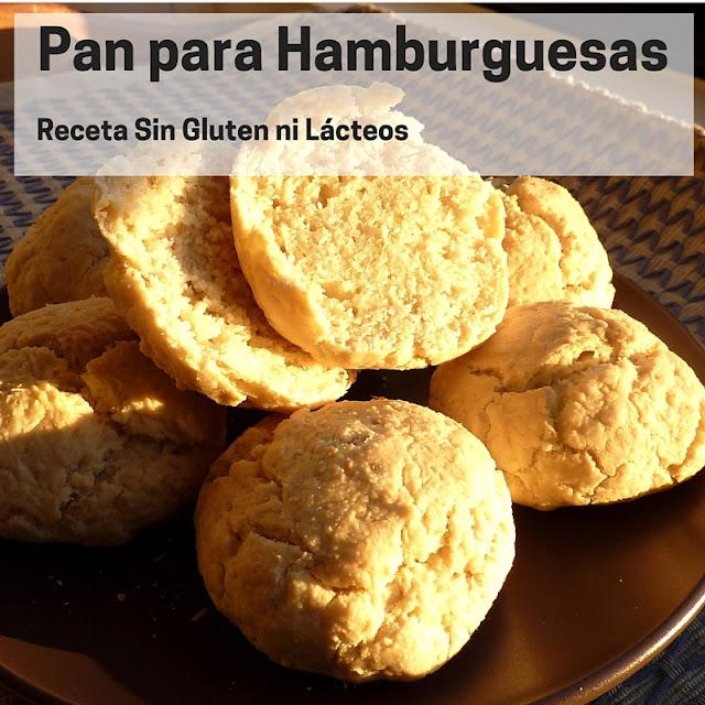 Cómo hacer pan de hamburguesas sin gluten ni lácteos
