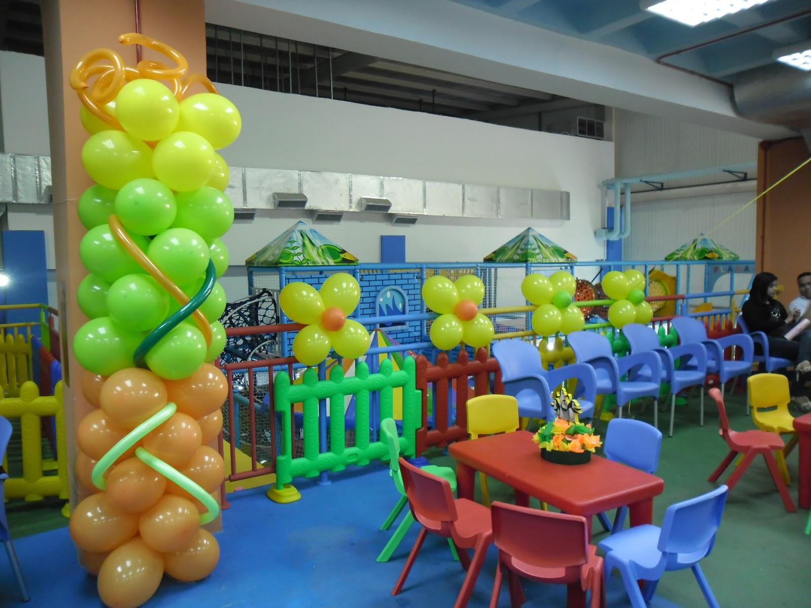 Payasita caramelo decoracion con globos - Decoracion con caramelo ...