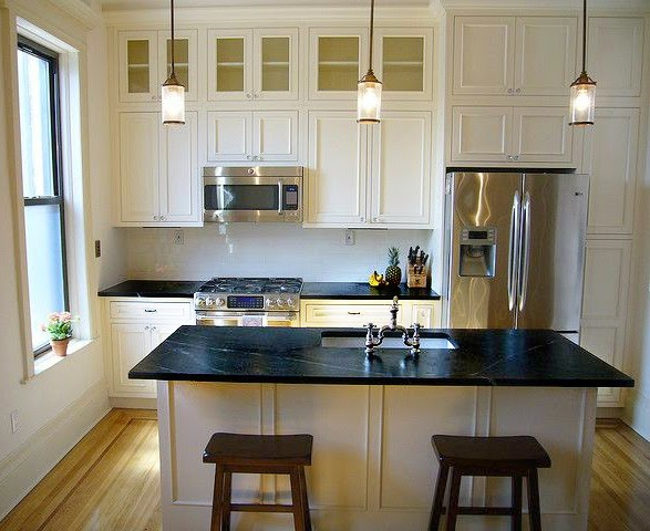 White Soapstone Countertops Kitchen Sparkling White