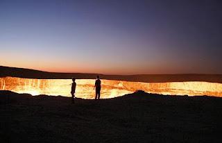 بوابة الجحيم بأفغانستان Hell Gate Uzbekistan