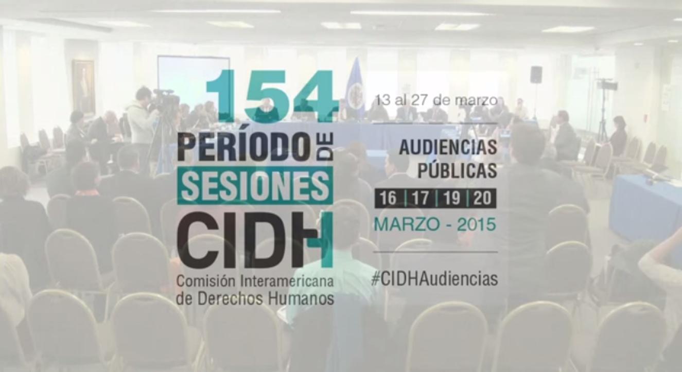 """VIDEO: Audiencia CIDH sobre """"Libertad de expresión, diversidad, pluralismo y concentración de medios en América"""""""