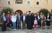 Προσκύνημα στην Ιερά Μονή Αγίου Ιωάννου Θεολόγου Βερίνου και στην Παναγία την Τρυπητή Αιγίου