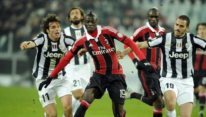 Juventus vs Milan en vivo