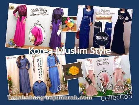 Grosir Baju Muslim Murah Korea di Surabaya