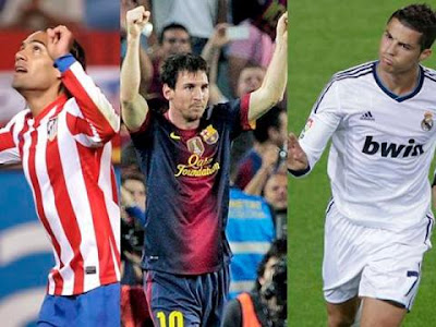 Candidatos al equipo ideal de la UEFA 2012