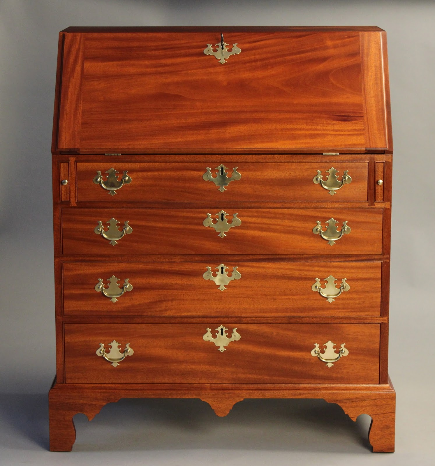 chippendale slant lid desk