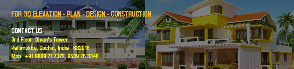 ... Best 3D Elevation Plan Interior Design House Villa Apartment Buildings