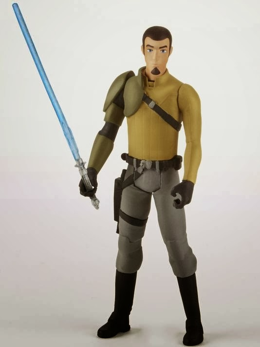 New 5POA Jedi Kanan figure from the upcoming Rebels line