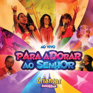Capa cd criancasdt07 Diante do Trono Crianas: Para adorar ao Senhor (2008) 
