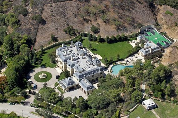 Eileen's Home Design: Aerial Photos of Mark Wahlberg's ...