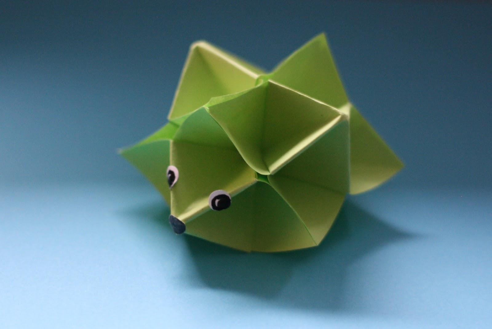 Origami Herbst Anleitung : Fraeulein Unwirsch und die kleine Schwester ...