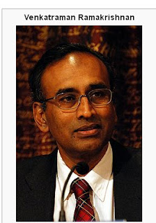 List of Indians awarded Nobel Prize-Venkataraman Ramakrishnan