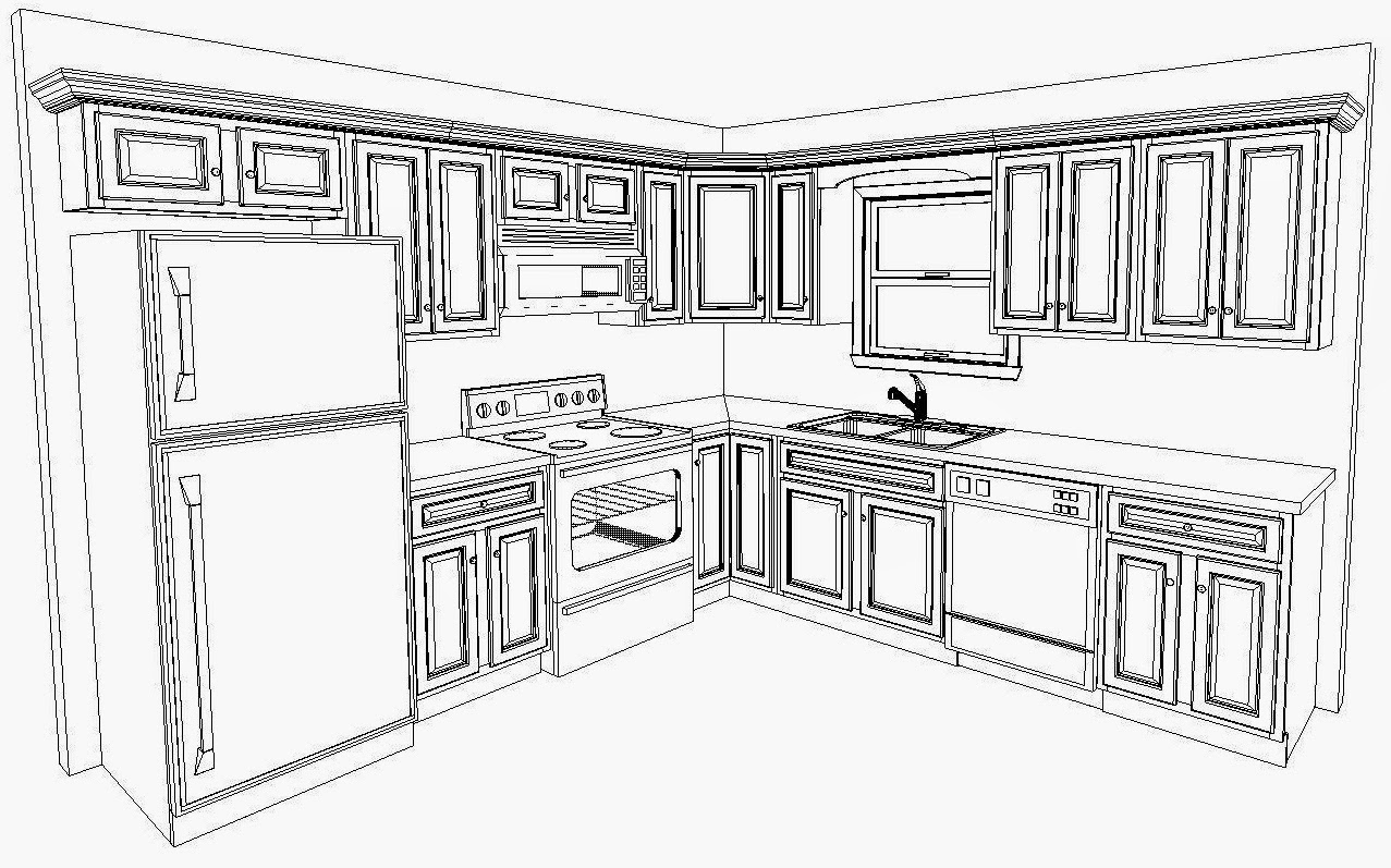 Common Kitchen Layouts With Astonishing Outcome My Kitchen .