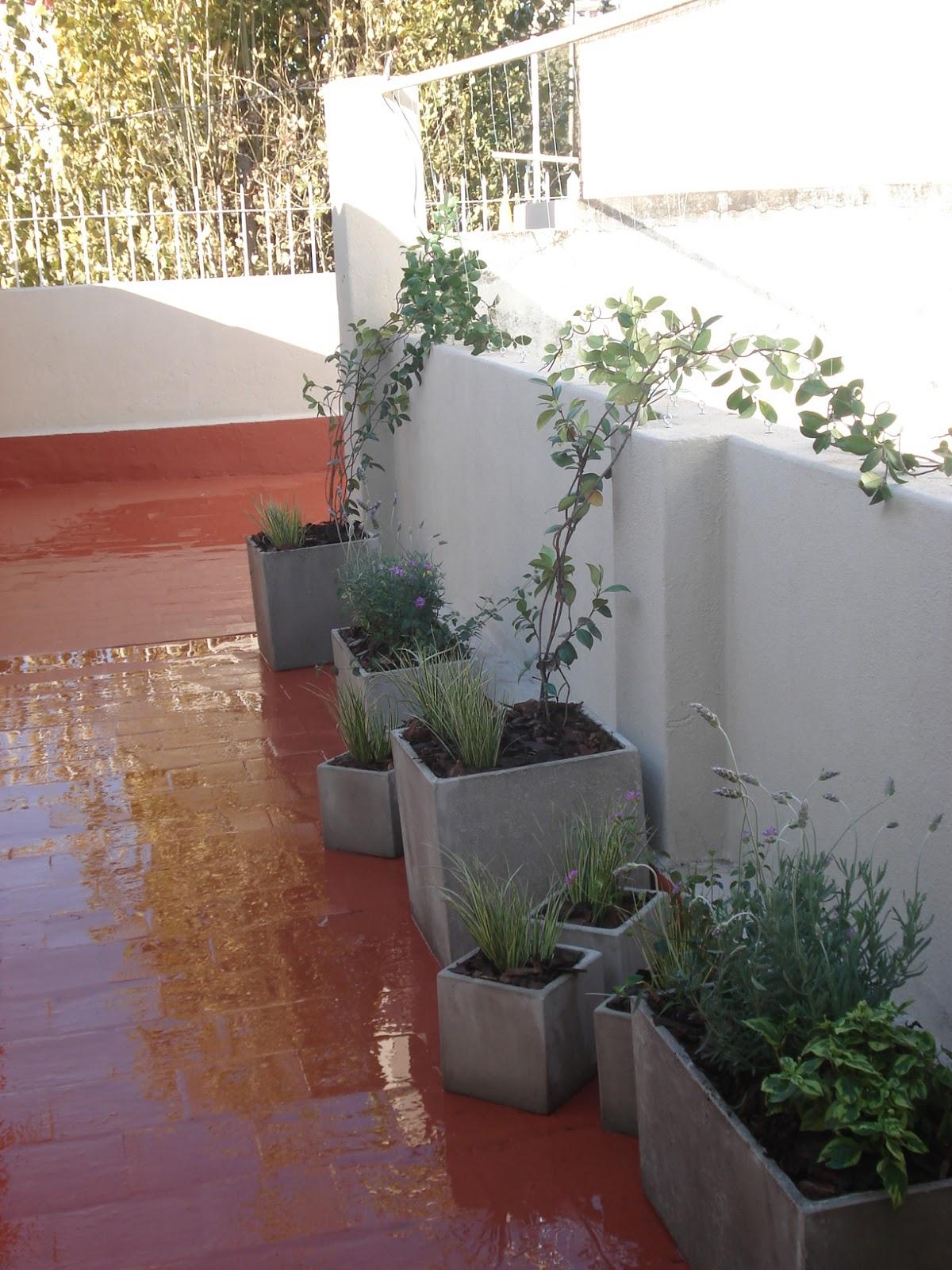 Reverdir Jardineria Y Paisajismo Terraza Con Aromas