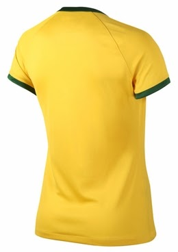 Jersey Ladies Brazil WC Home 2014
