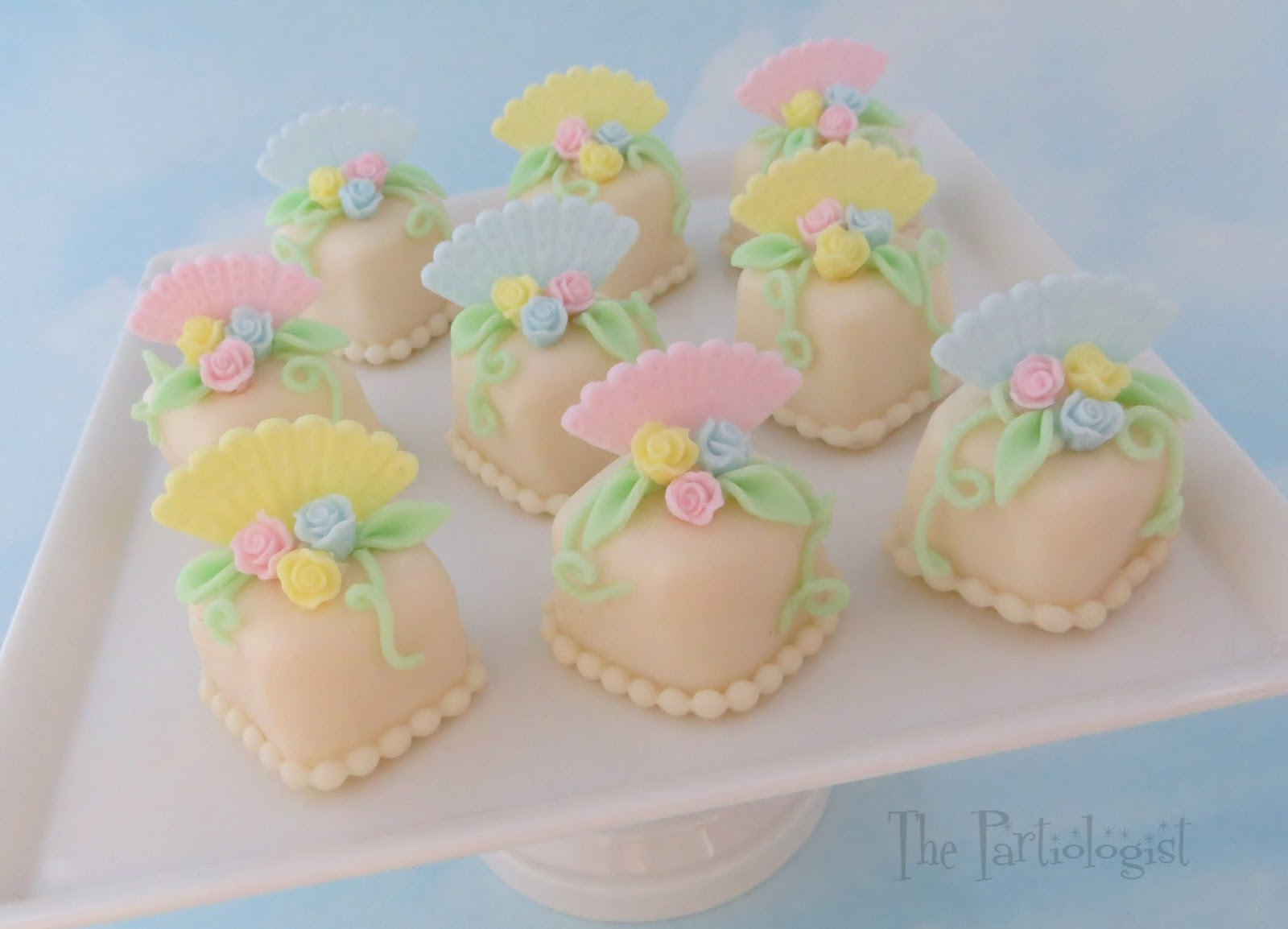 Image result for beautiful petit fours