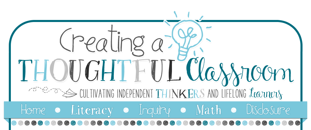 Creating a Thoughtful Classroom