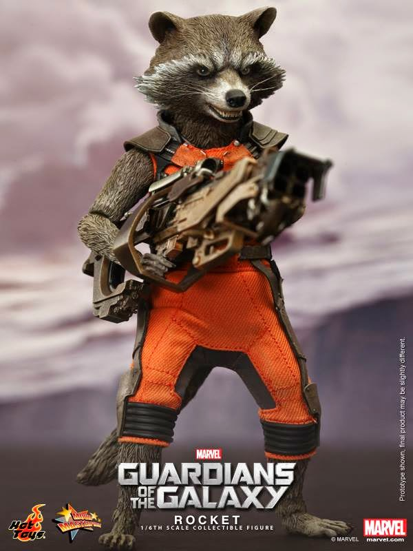 Action Figure Hot Toys Rocket Racoon