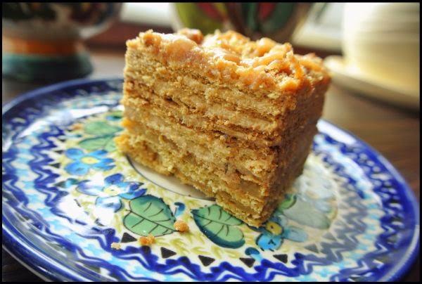 Medovik Rosyjskie Ciasto Miodowe Just Megik