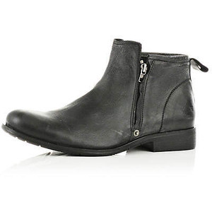 Mens Boots Zipper5