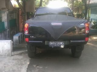 Pengiriman Mitsubishi strada BA 8238 WS Lampung ke Medan