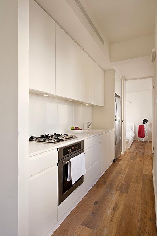 Cozinha do apartamento