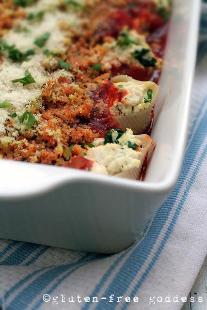 Italian style comfort food- gluten-free