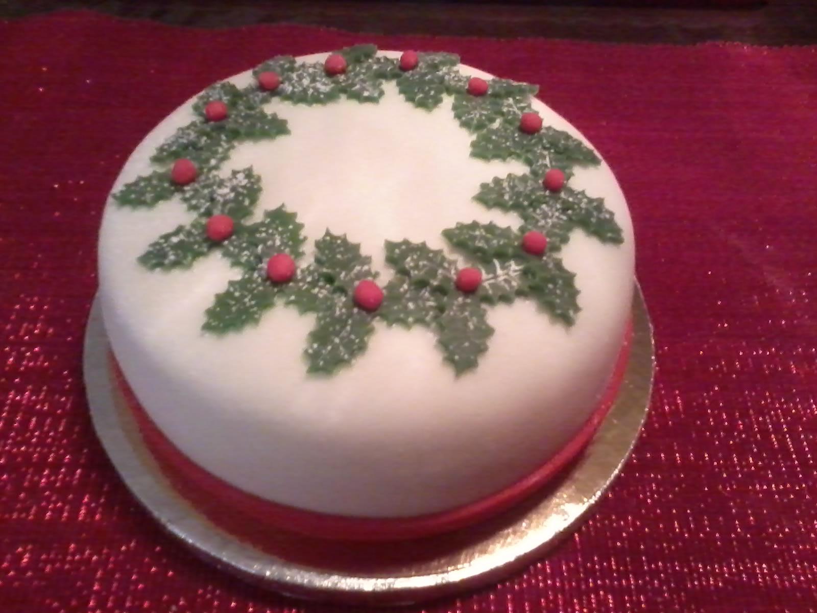 tårta till jul