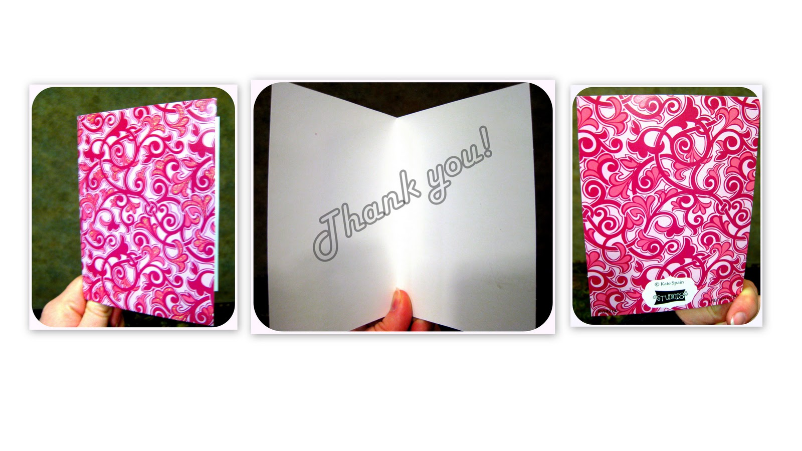 you are looking for something a little more structured try a Thank You ...