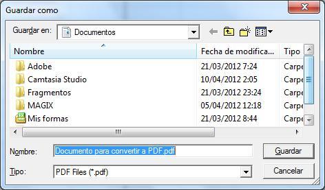 convertir pdf en excel gratuit 2012
