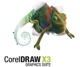 use coreldraw to create blog header