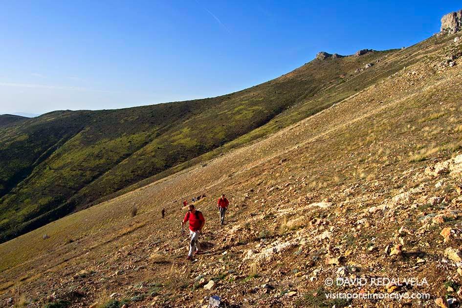 recorridos senderismo trekking aragon España