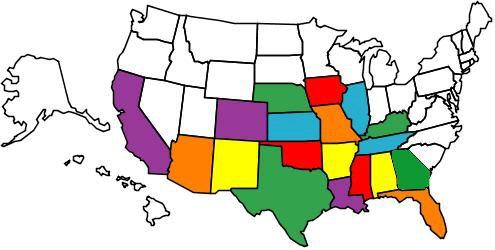 States I've Traveled