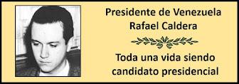 Fotos del Presidente Venezolano Rafael Caldera