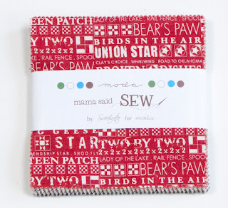 Mama Said Sew Charm Pack