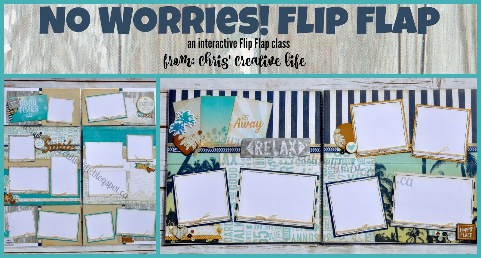 No Worries Flip Flap Workshop