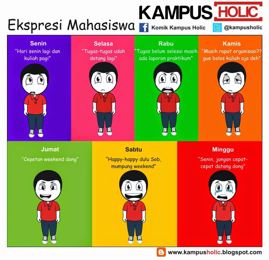 #720 Ekspresi Mahasiswa