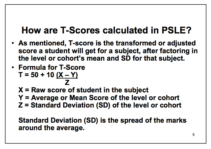 PetuniaLee™: PSLE T-Score: The Role of Standard Deviation