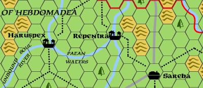 Map Bettellyn Hebdomadea