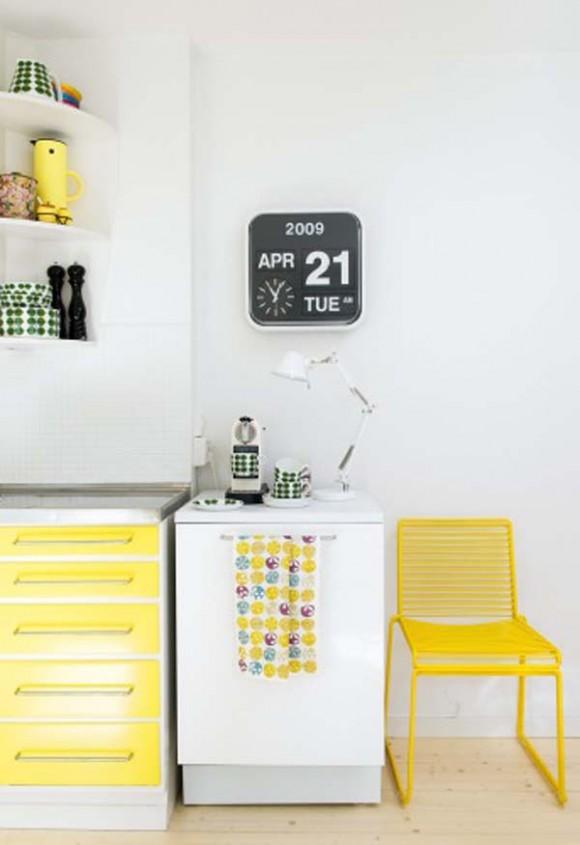 Cómo decorar la cocina con amarillo   Decoraciones de Cocinas