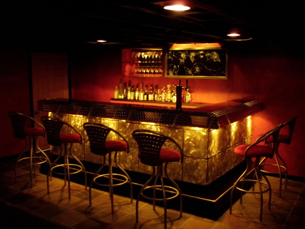 Bar design ideas for your home dream house experience - Home basement bar ideas ...