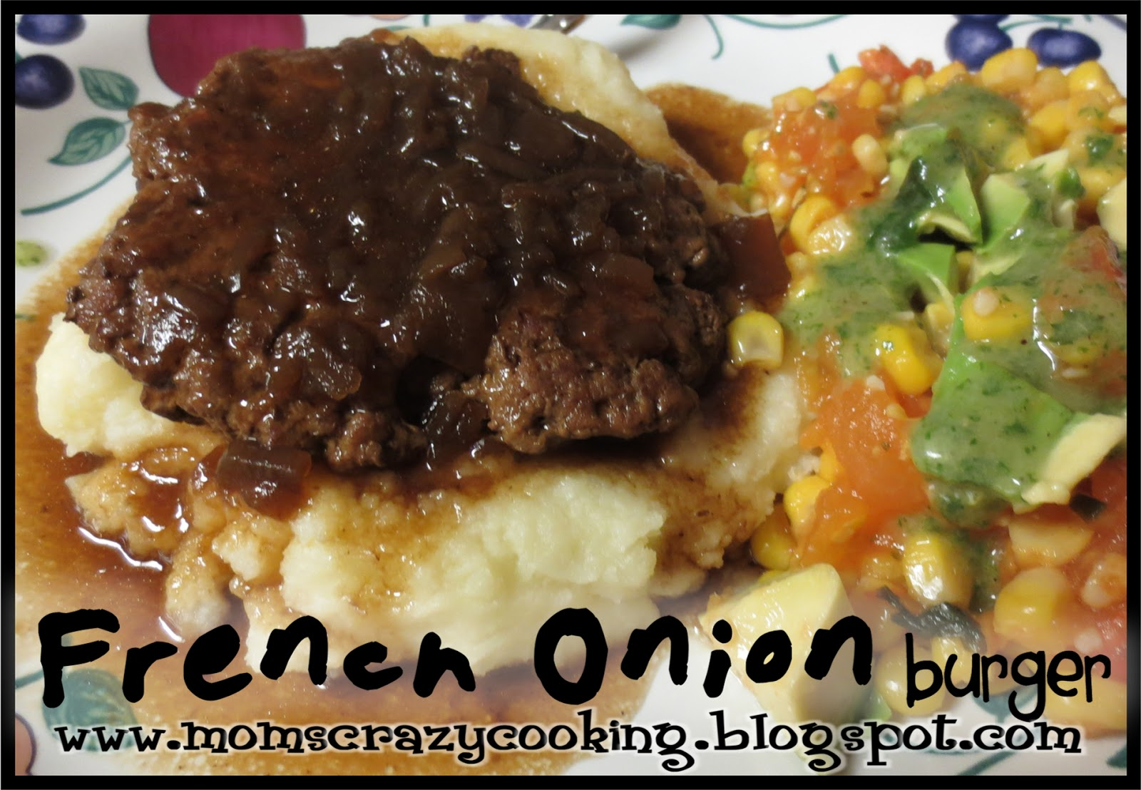 Campbell Kitchen Recipe Moms Crazy Cooking French Onion Burger Or Salisbury Steak Style