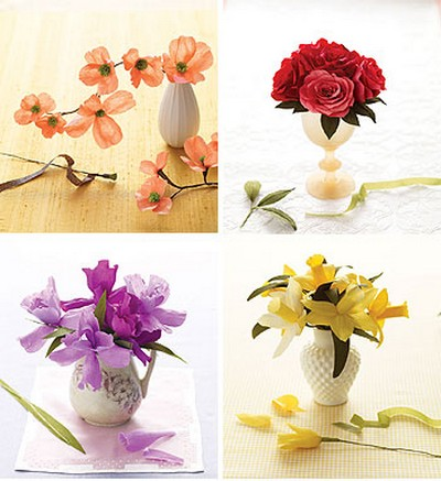 Paper flowers martha stewart inducedfo single petals martha stewart linkedpaper flowers mightylinksfo