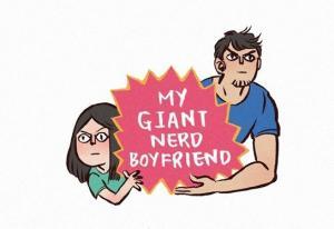 My Giant Nerd Boyfriend Manga