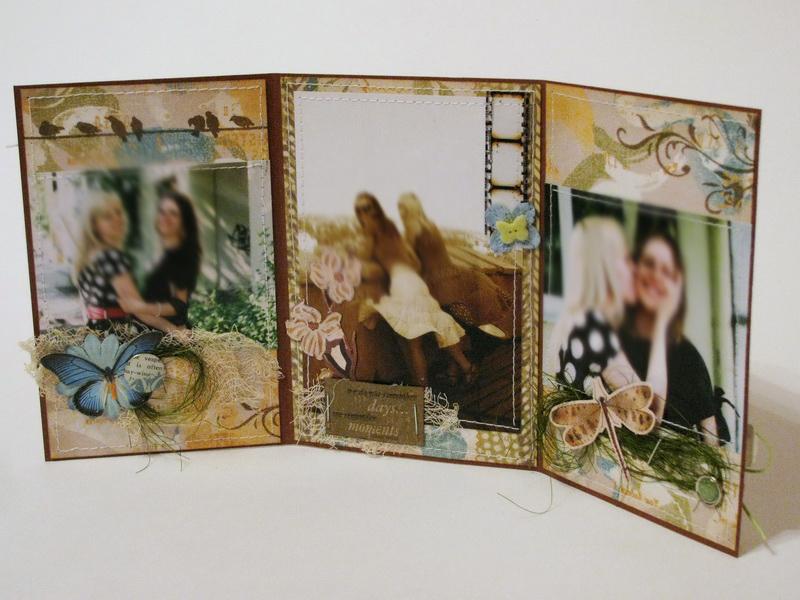 сложные открытки: